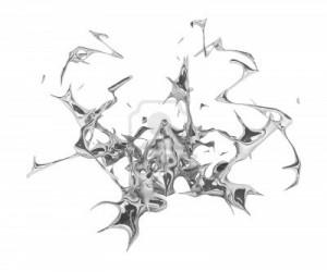 6033687-abstracta-bienvenida-metal-liquido-3d-sobre-blanco-aislado